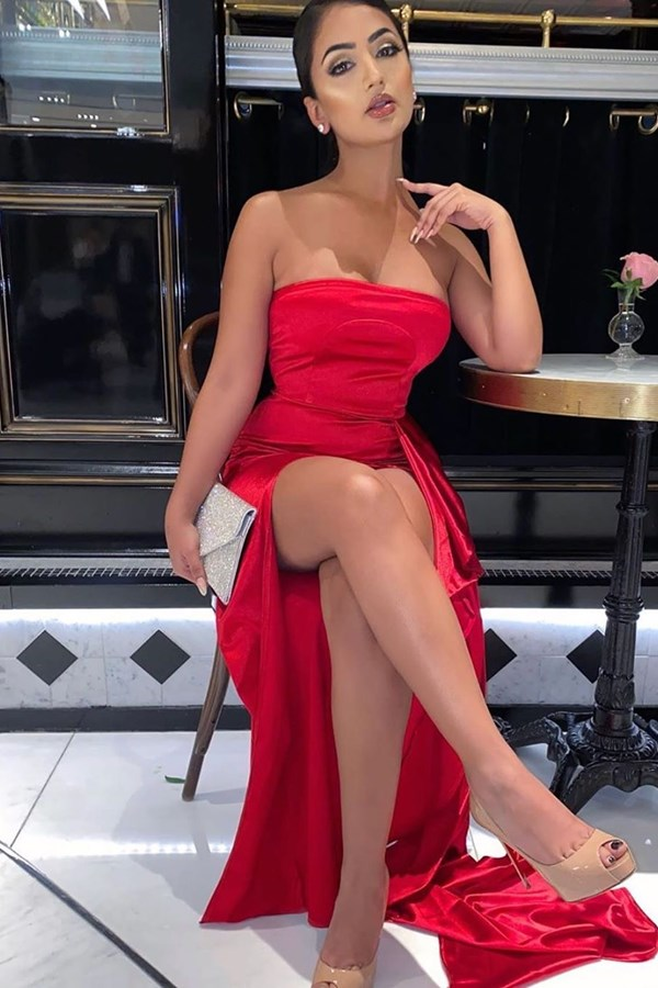 Spicy Mama Gown - Red